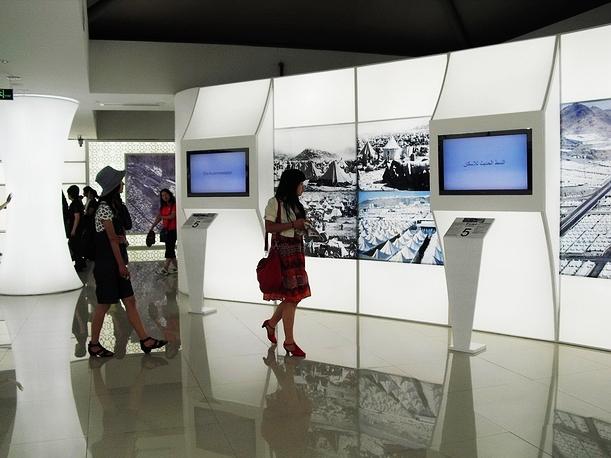 大型场馆内部设计展示
